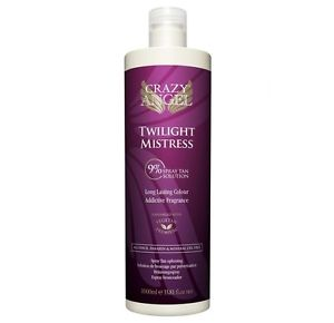 Crazy Angel Tanning Solution Fake Tan Golden Mistress 6% 1 Litre
