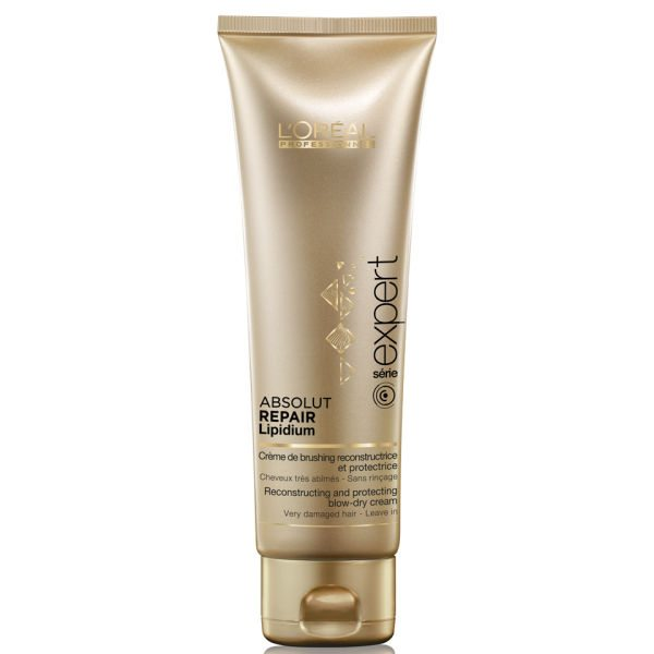 L'Oreal Professionnel Absolut Repair Lipidium Reconstructing and Protecting Blow-Dry Cream 125ml