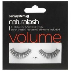 Salon System Naturalash Strip Eyelashes 101 Black