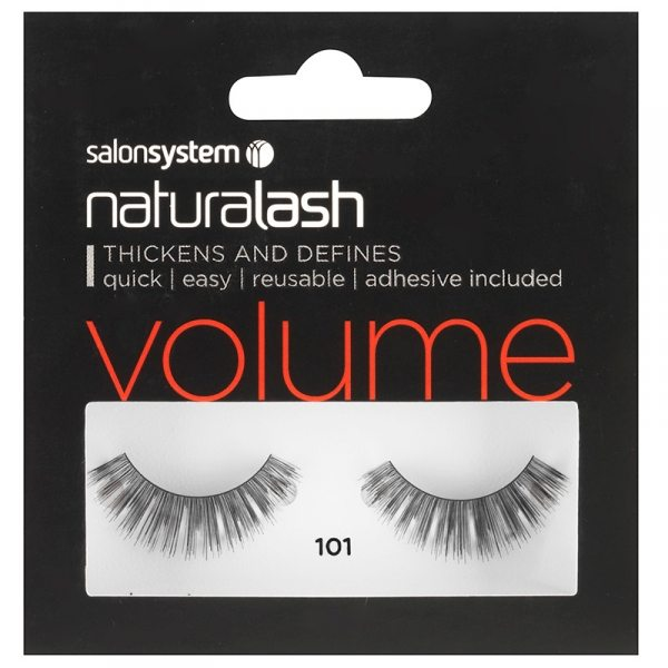 Salon System Naturalash Strip Eyelashes 101 Black