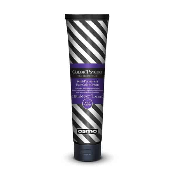 Color Psycho Semi–Permanent Hair Color - Wild Purple
