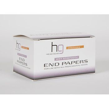 Head-Gear Wet Strength End Paper Pads 5 x 500