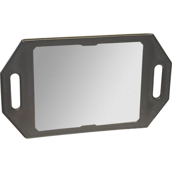 Kodo Two Handed Mirror Black