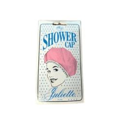 Denman Comby Juliette Plain Shower Cap - Pink