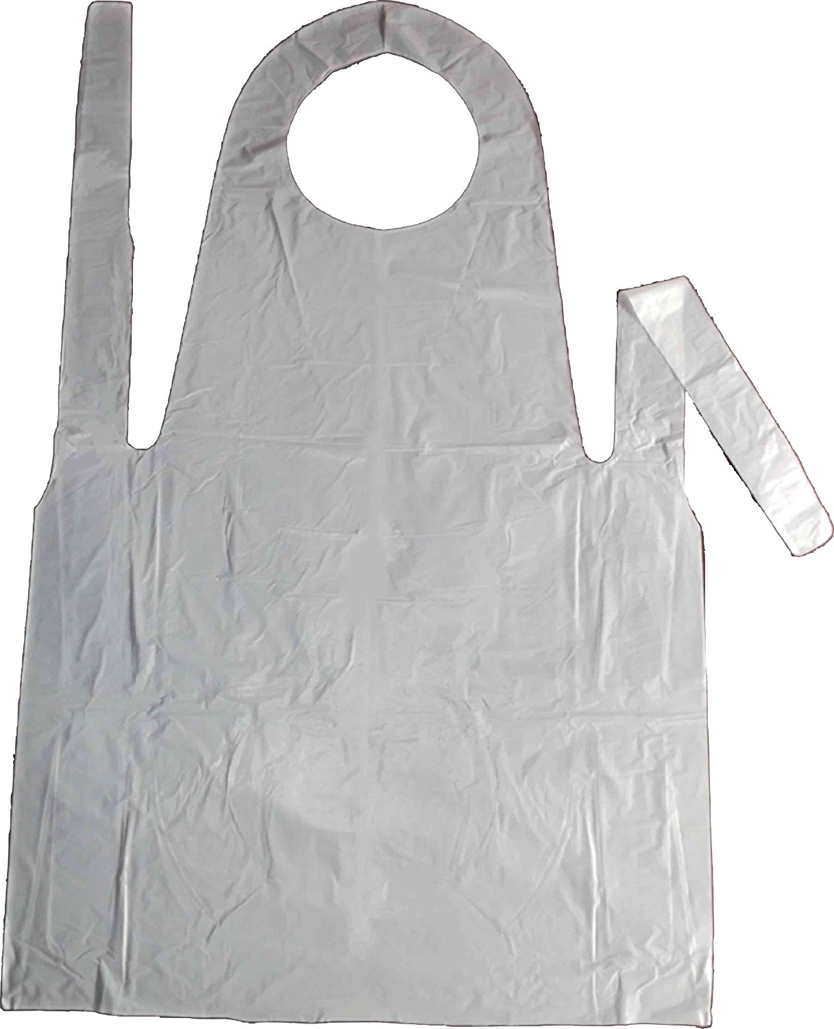 Agenda Disposable Aprons White 100 Pack