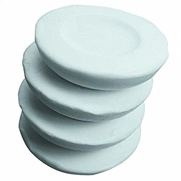 Pack of 4 Shaving Soap Domes