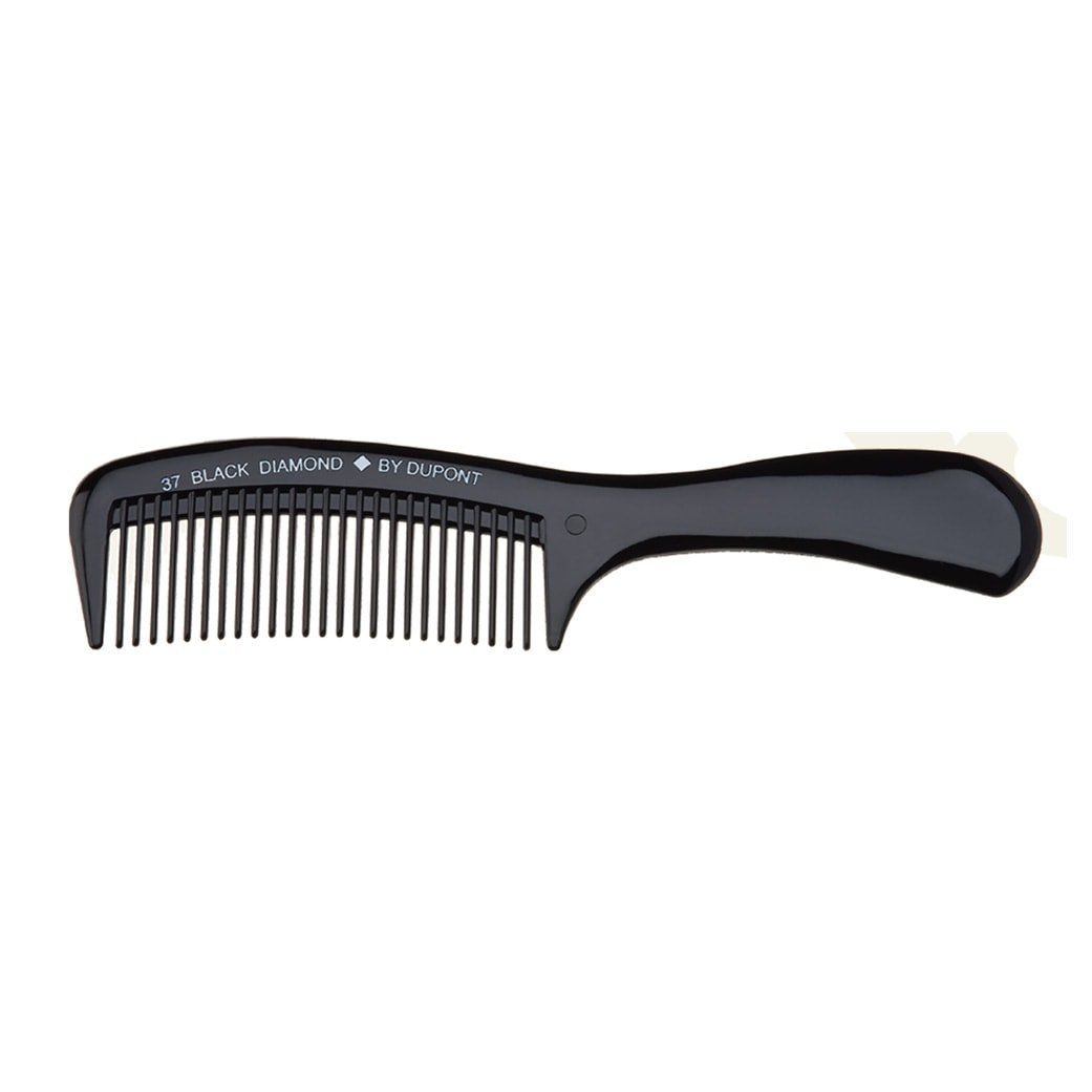 Black Diamond Shampoo Rake Hair Comb 37 by Dupont
