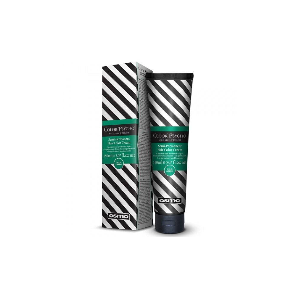 Color Psycho Semi–Permanent Hair Color-Wild Green