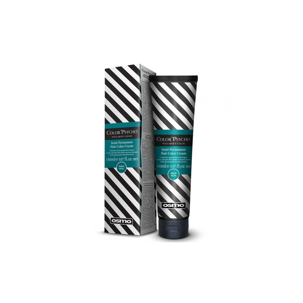 Color Psycho Semi–Permanent Hair Color – Wild Teal