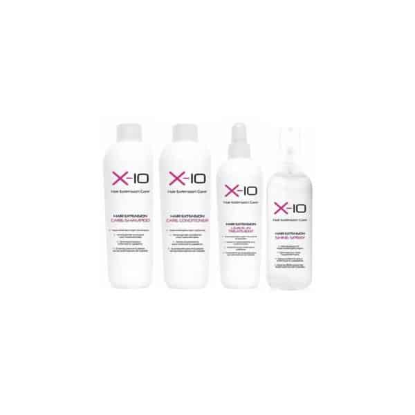 X-10 Hair Extension Care Kit