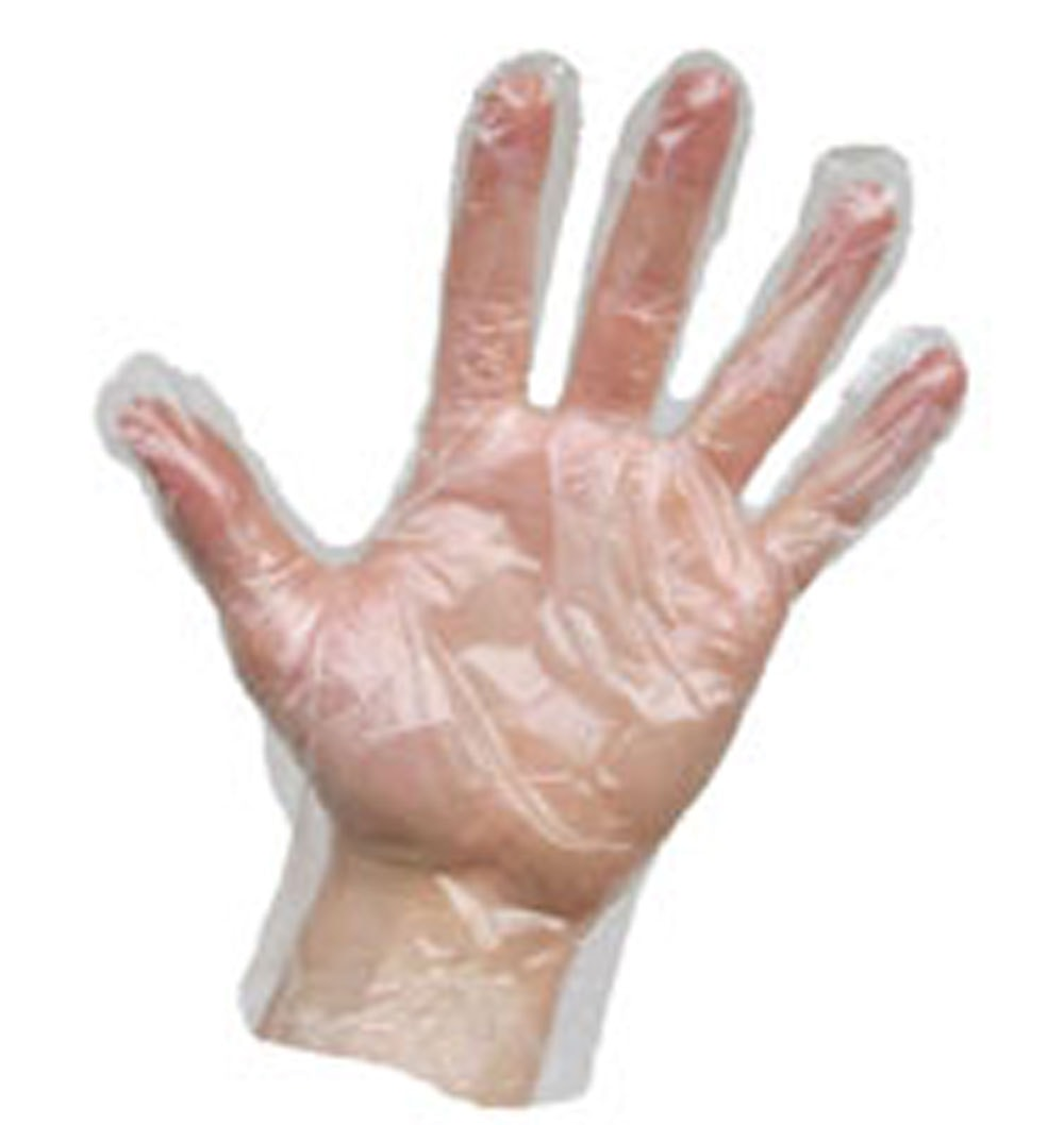 Agenda DISPOSABLE POLY GLOVES PACK OF 100