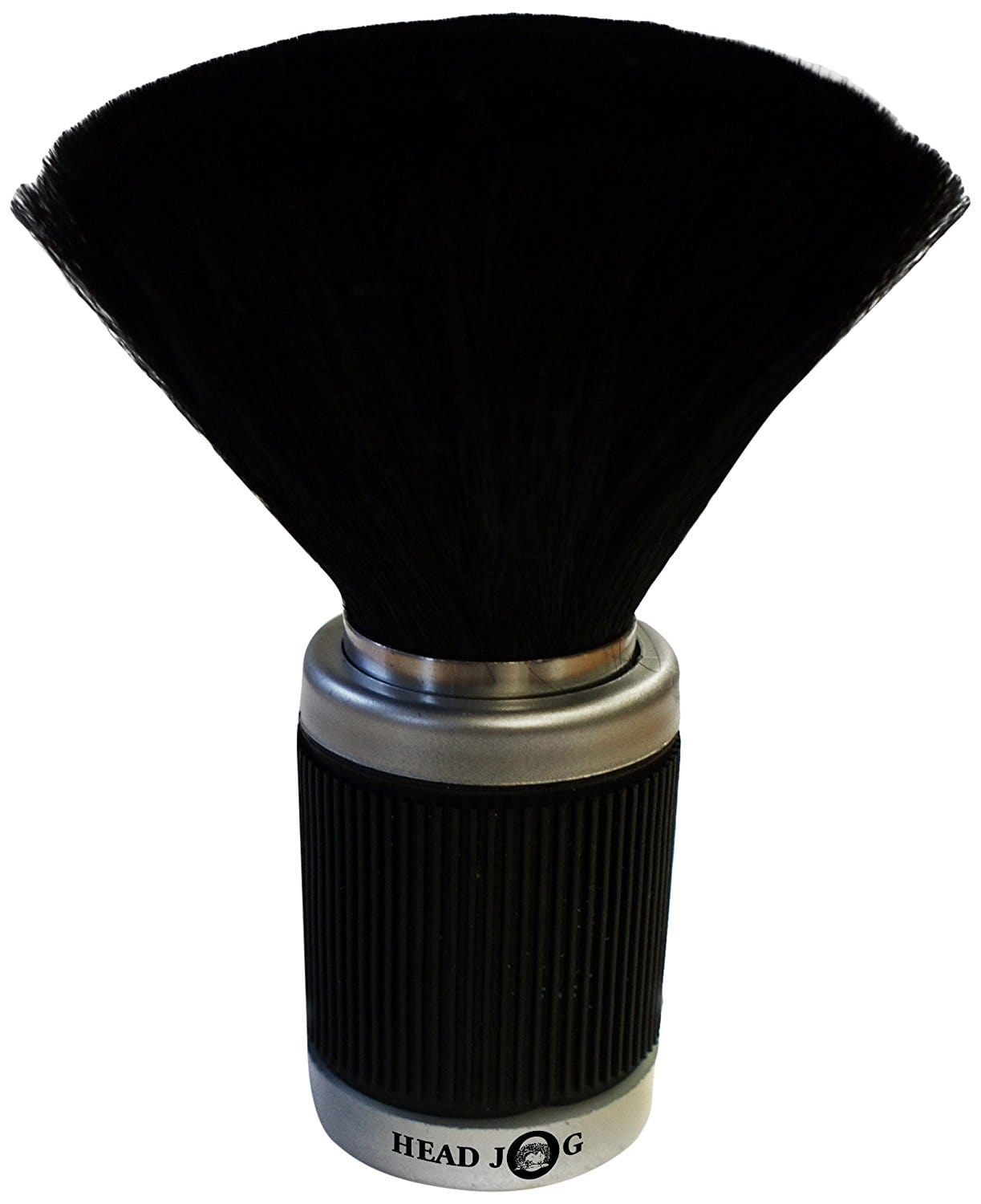 Head Jog Black Rubber Grip Neck Brush
