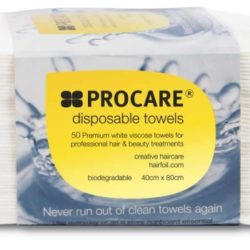 ProCare Disposable Towels White 50 Pack