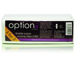 Options By Hive Flexible Paper Waxing Strips (100) - 3 FOR 2 PACK