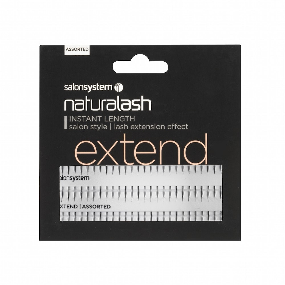 Salon System Naturalash Individual Lash EXTEND Assorted