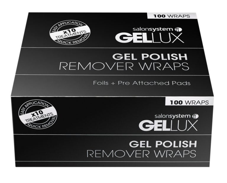 Gellux Gel Polish Remover Wraps