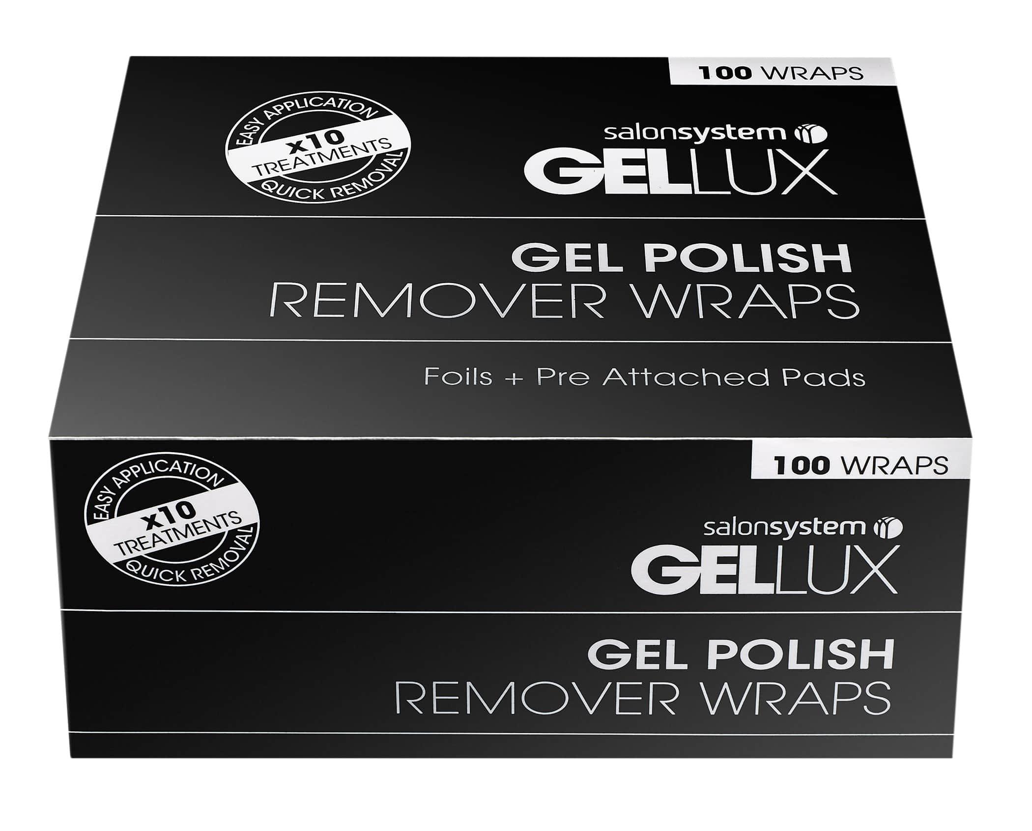 Gellux Gel Polish Remover Wraps
