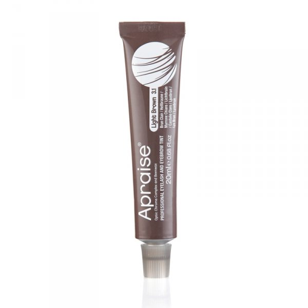 Apraise Eyelash and Eyebrow Tint - 3.1 Light Brown Tint