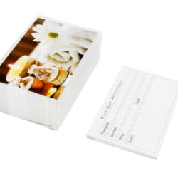Agenda Beauty Appointment Cards Daisy (100)