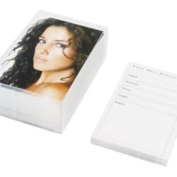 Agenda Hair Appointment Cards Brunette (100)