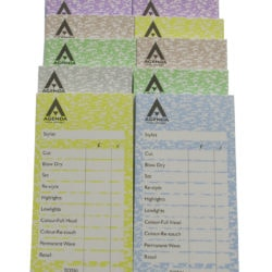 Agenda Hairdressing Checkpads Assorted (12x100)
