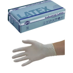 Agenda Pro Latex Powdered Disposable Gloves (100) Medium