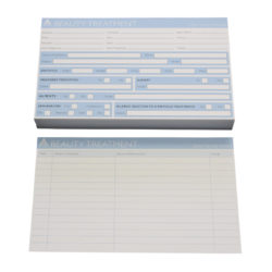 Agenda Record Cards Beauty Treatment (100)