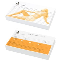 Agenda Record Cards Spray Tan (100)