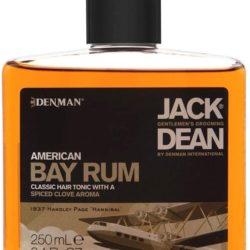 Denman Jack Dean American Bay Rum Hair and Scalp Tonic 250ml
