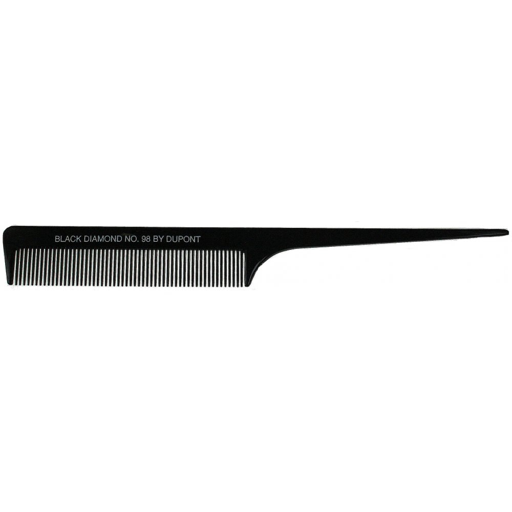 Black Diamond Tail Hair Comb 98 by Dupont