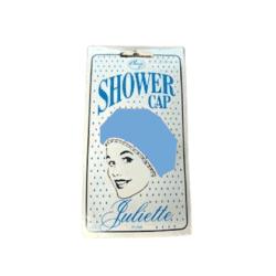 Denman Comby Juliette Plain Shower Cap – Blue