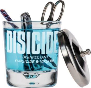 Disicide Glass Jar 160ml Small