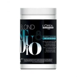 L'Oreal Blond Studio Multi-Techniques Blue Powder Bleach 400g