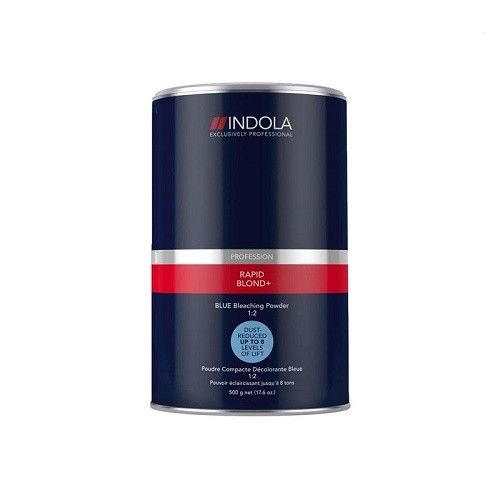 Indola Profession Rapid Blonde Blue Dust Free Powder Bleach 500G