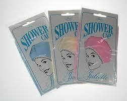 Comby Juliette Plain Shower Cap - Blue