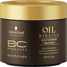 Schwarzkopf BC Bonacure Oil Miracle Gold Shimmer Treatment Masque 150ml