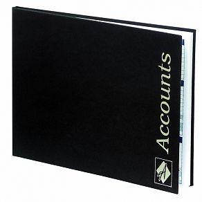 Agenda Salon Account Book Black
