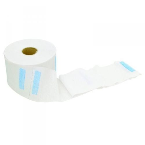 Salon And Barbering Pollie Elastic Paper Collar x 100 Units