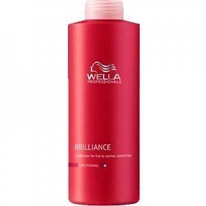 Wella Professional Brilliance Shampoo - Fine to Normal Hair 1000ml