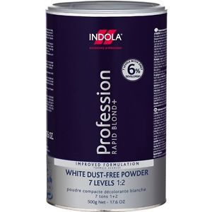 Indola White Dust-Free Powder Hair Bleach 500g