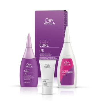 Wella Creatine+ Curl It Normal To Resistant Hair Kit