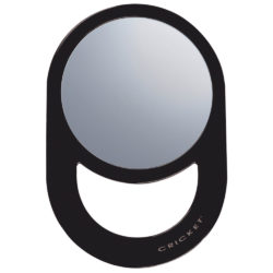 Agenda Cricket Oval Styling Mirror Black