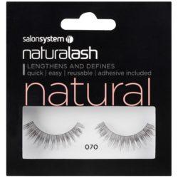 Salon System Naturalash Strip Lashes 070 Black