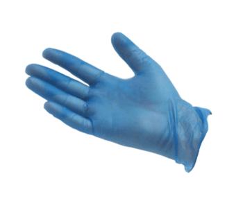 Vinyl Powdered Disposable Gloves (100) MEDIUM