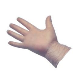 Vinyl Powder Free Disposable Gloves (100) Medium