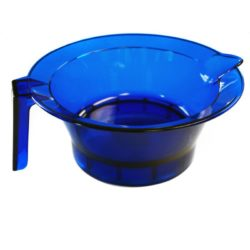 Hair Tools Transparent Tint Bowl - Blue