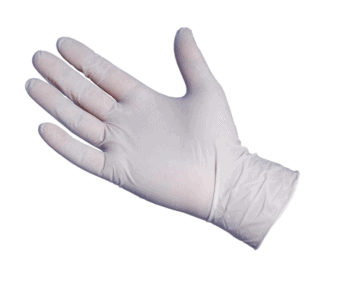 Latex Powdered Disposable Gloves (100) Medium
