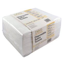 Deo Disposable Towels - White (50)