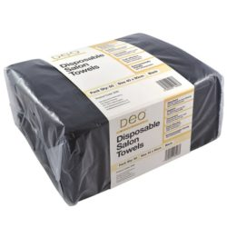 Deo Disposable Towels - Black (50)