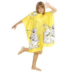 Hair Tools Children's Gown - Yellow